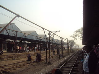 Laksam Junction railway station Junction station in Comilla District, Bangladesh