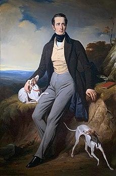 Lamartine peint par Decaisne (musée de Mâcon)