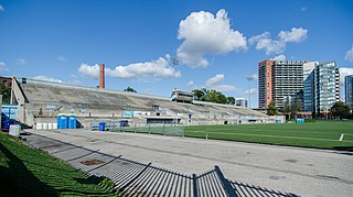 Lamport Stadium rugby league stadium in Toronto, Canada, known as The Den when hosting Toronto Wolfpack RLFC home games