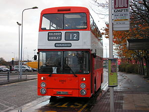 Northern Counties (bus manufacturer) - Preserved Lancashire United Transport Northern Counties bodied Daimler Fleetline