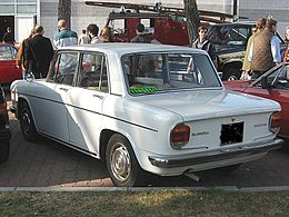 Lancia Fulvia-1970 Rear-view.JPG