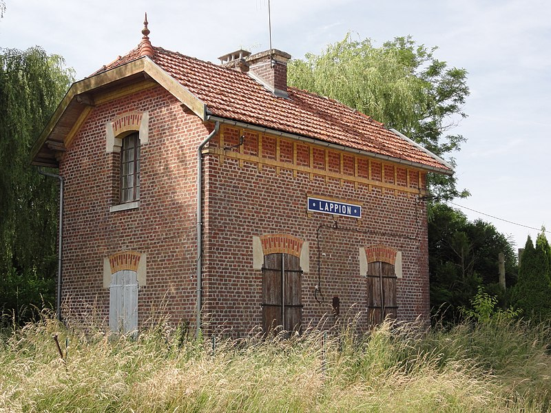 Lappion (Aisne) ancienne gare