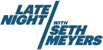 Late Night with Seth Meyers - Image: Late Night with Seth Meyers (Official 2014 Logo)