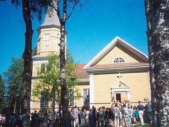 Lavia, Finland - Lavia Church