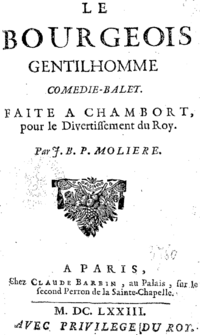 Le Bourgeois Gentilhomme, Molière, couverture.png