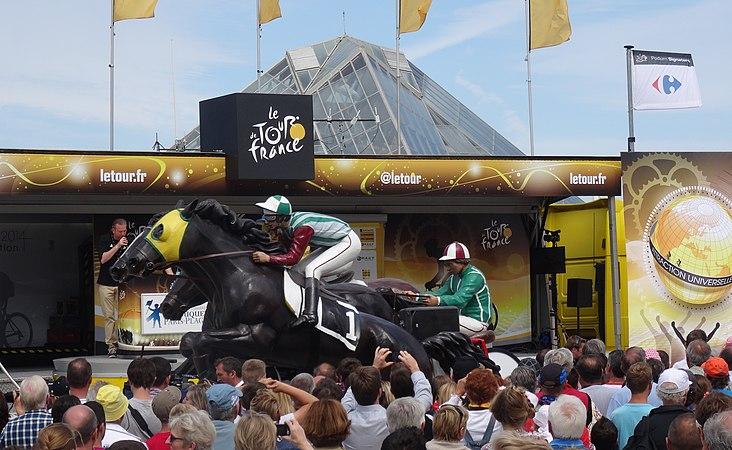 Le Touquet-Paris-Plage - Tour de France, étape 4, 8 juillet 2014, départ (A24).JPG