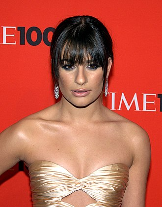 Lea Michele - Michele at the 2010 Time 100.