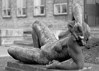 Kai Nielsen (sculptor) - Leda without the swan, 1920.