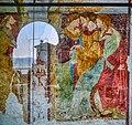 Leggiuno Monastero di Santa Caterina del Sasso Chiesa Esterno Affresco.jpg