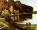 Leistikow, Walter - Riverscene with Forest Beyond.jpg