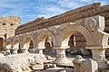 Leptis Magna - Teste di Gorgone nel Foro Severiano - panoramio.jpg