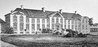 Lerchenborg - Lerchenborg in the late 19th century