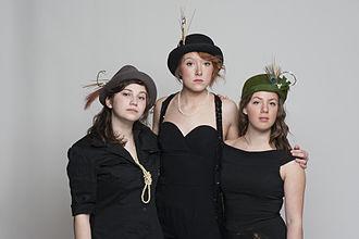 Les Hay Babies - Vivianne Roy, Katerine Noel, et Julie Aubé en 2012