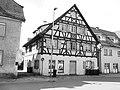Leutkirch - Memminger Str Nr 11 ehem Weberhaus v O 080421 (sw).jpg