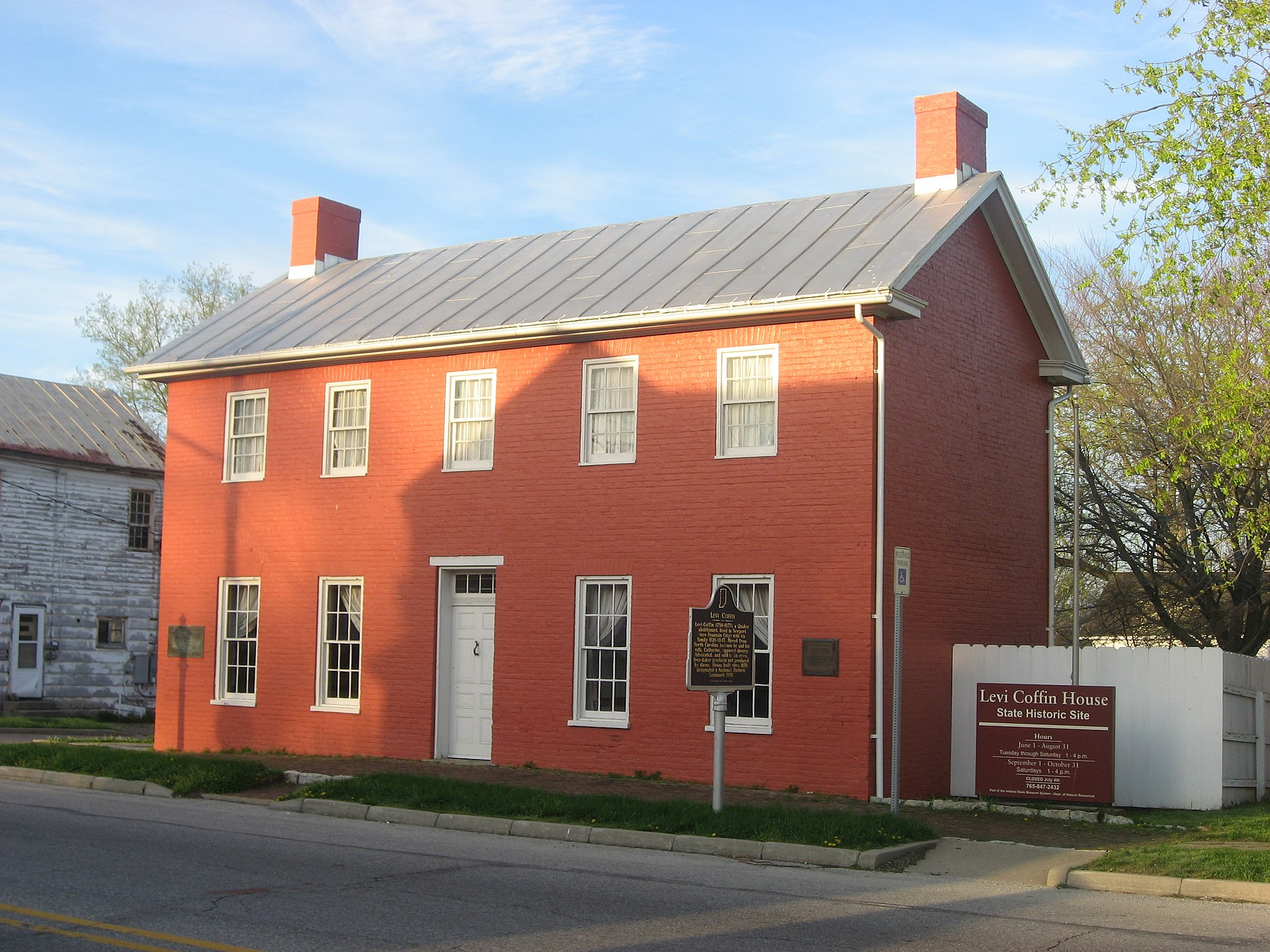 Levi Coffin House Wikipedia
