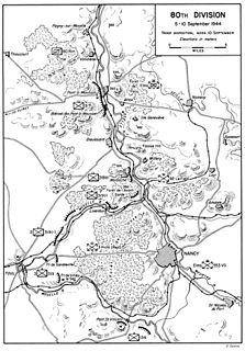 Battle of Nancy (1944) battle