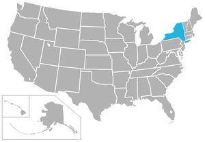 Liberty League - Image: Liberty USA states
