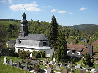 Lichte - St. Elisabeth´s church, Lichte-Wallendorf, dating to 1734
