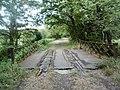 Ligne Le Dorat-Magnac Laval chemin de randonnée passage sur un pont près du Dorat.jpg