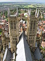 Lincoln Cathedral The view from central tower.jpg