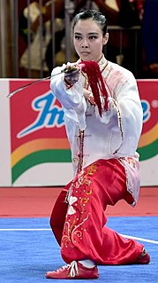 Lindswell Kwok Indonesian martial artist
