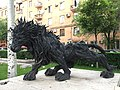 Lion from old tires.jpg