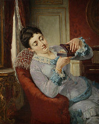 Lionel Baes Young woman with letter box.jpg