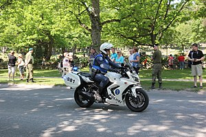Police of Finland - Finnish motorcycle police.