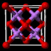 Подобие рунных и научных моделей. - Страница 5 200px-Lithium-oxide-unit-cell-3D-balls-B
