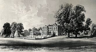 Frederick Cass (died 1861) - Little Grove, South Front, published by Kell Brothers of Holborn, c. 1860s.