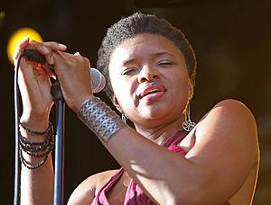Lizz Wright - Lizz Wright at Stockholm Jazz Festival, 2009
