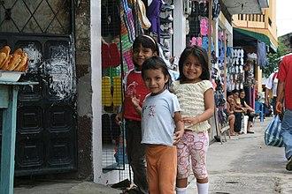 Tena, Ecuador - Image: Local children of Tena, Ecuador (2009)