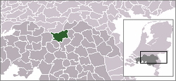 Location of 's-Hertogenbosch
