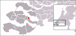 Location of Yerseke