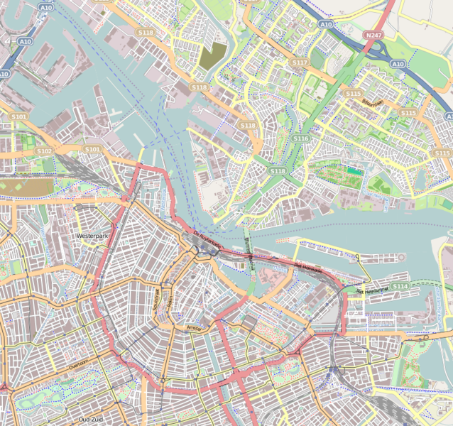 Fichier:Location map Netherlands Amsterdam Central.png
