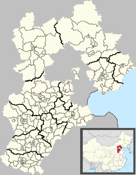 Cangzhou is located in Hebei
