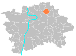 Location map municipal district Prague - Praha 18.PNG