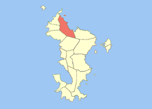 Bandraboua - Image: Locator map of Bandraboua