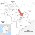 Locator map of Kanton Chartreuse-Guiers 2019.png
