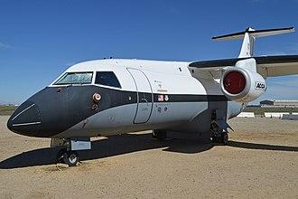 Lockheed Martin X-55 - X-55 (N807LM) on display at Joe Davies Heritage Airpark