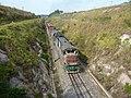 Locomotivas tracionando de ré no final do comboio que passava sentido Guaianã na Variante Boa Vista-Guaianã km 189 em Itu - panoramio.jpg
