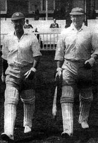 Lomas Athletic Club - Part of the cricket team, 1948–49 champions