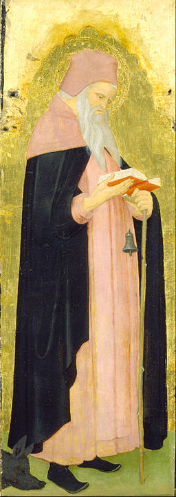 Lombard Master - Saint Anthony Abbot - Google Art Project