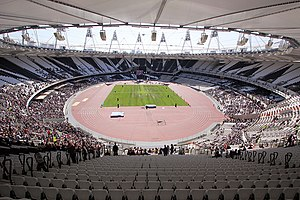 London Stadium - Olympic Stadium interior