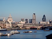 London is the largest city in England, the United Kingdom, and the European Union.