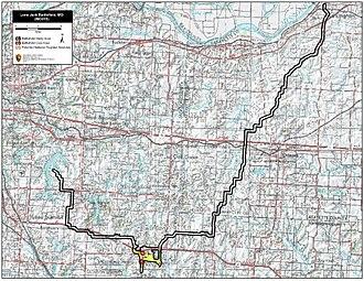 Battle of Lone Jack - Image: Lone Jack Battlefield Missouri