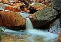 Long exposure of Douglas Falls, West Virginia (5516688914).jpg