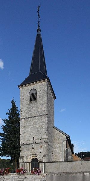 Église de Longeville (Doubs).