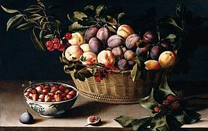 Still Life with a Basket of Fruit, 1630