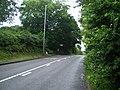 Lowe milepost in its setting - geograph.org.uk - 1402139.jpg